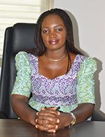 Gladys Patience BONKIELE, Assistante du Ministre délégué