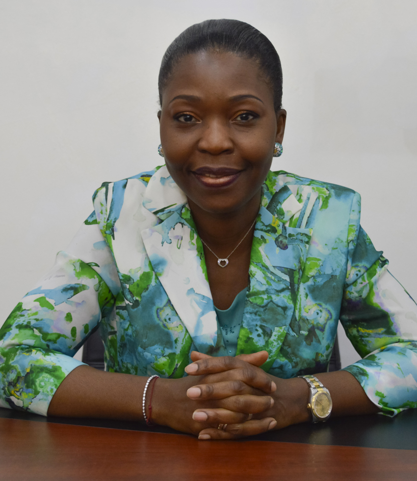 Lydie OBOA OWORO, Directrice Générale