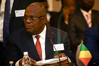 M. Calixte NGANONGO, Ministre des finances et du budget