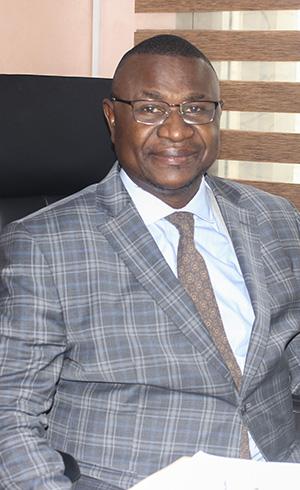 Aimé Klébert SINGHA, Adviser for treasury