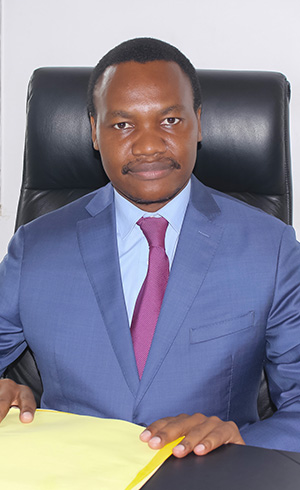 Fred OTSOA, Adviser in charge of mission