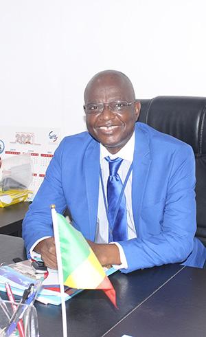 Jean Claude BAZEBI, Acting Director general