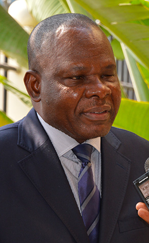 Lambert IFOKO, Adviser for taxation and Customs
