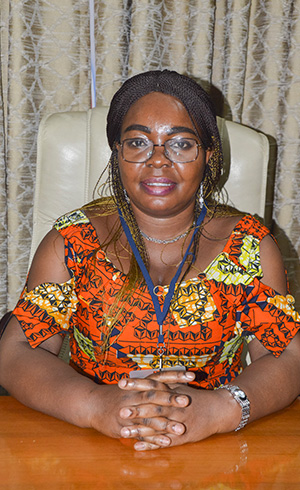 Reine Rose AMBOULOU, Private Secretary to the Minister Delegate