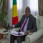 Le Ministre des Finances, du Budget et du Portefeuille Public, M. Calixte NGANONGO