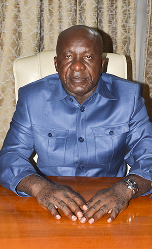 Wilfrid Albert OSSIE, Directeur de Cabinet